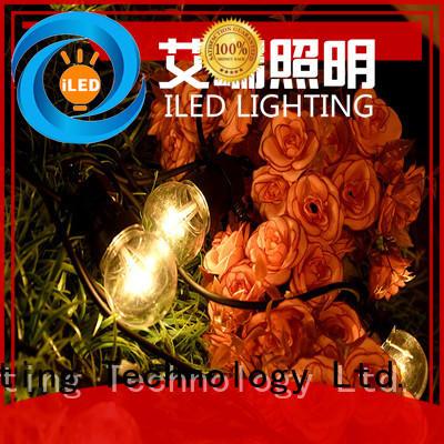 ILED white commercial led string lights lamp for festival