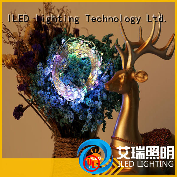 ILED 10m led wire string lights supplier for wedding