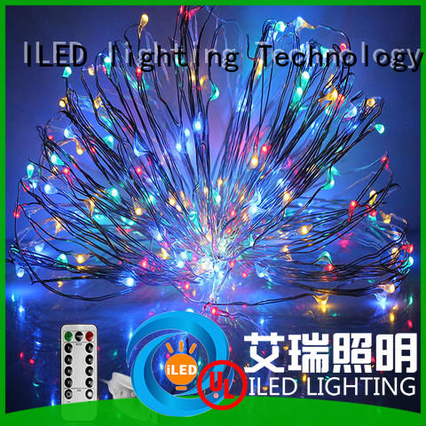 string led christmas lights copper wire power for party ILED