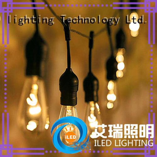 waterproof plug in festoon lights lamp for party