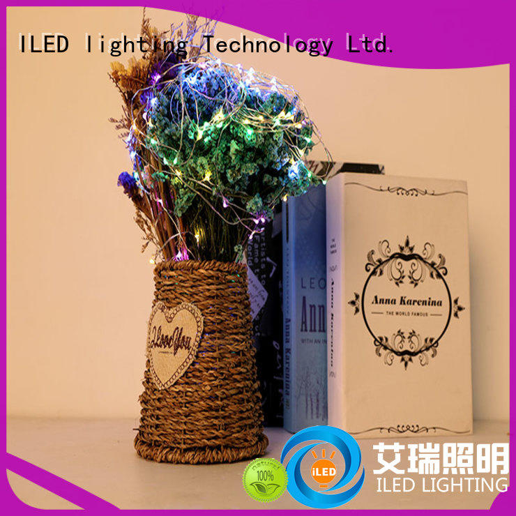 ILED battery operated fairy lights customized for bistro