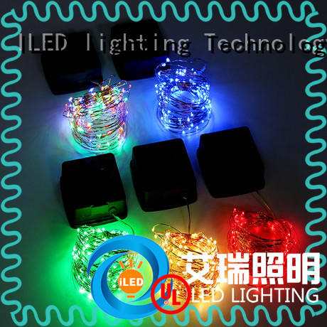warm solar copper string lights manufacturer for christmas