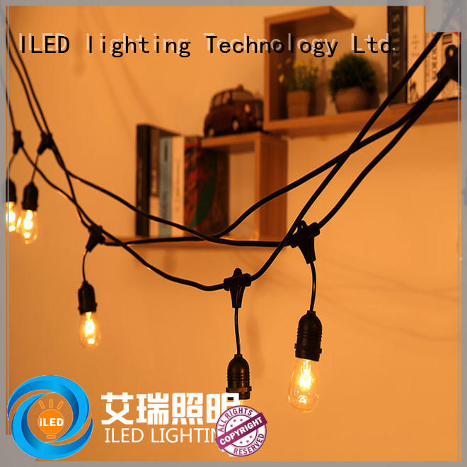 ILED party string lights supplier for outdoor