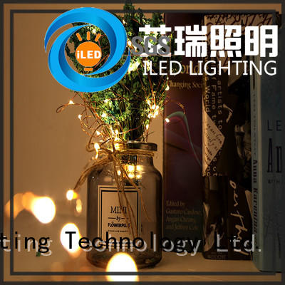 ILED copper wire christmas lights manufacturer for wedding
