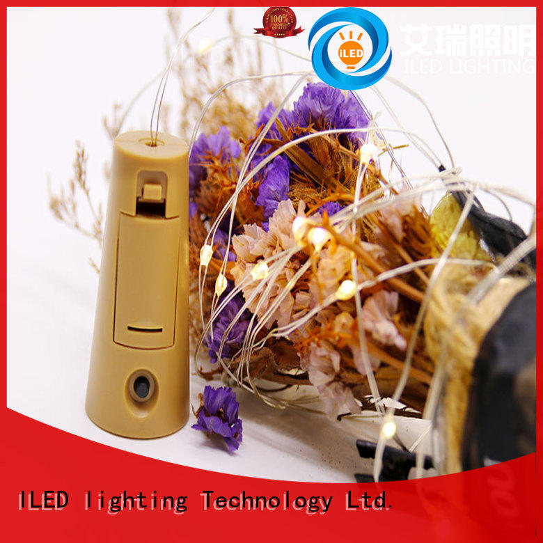 ILED waterproof battery christmas lights manufacturer for Christmas
