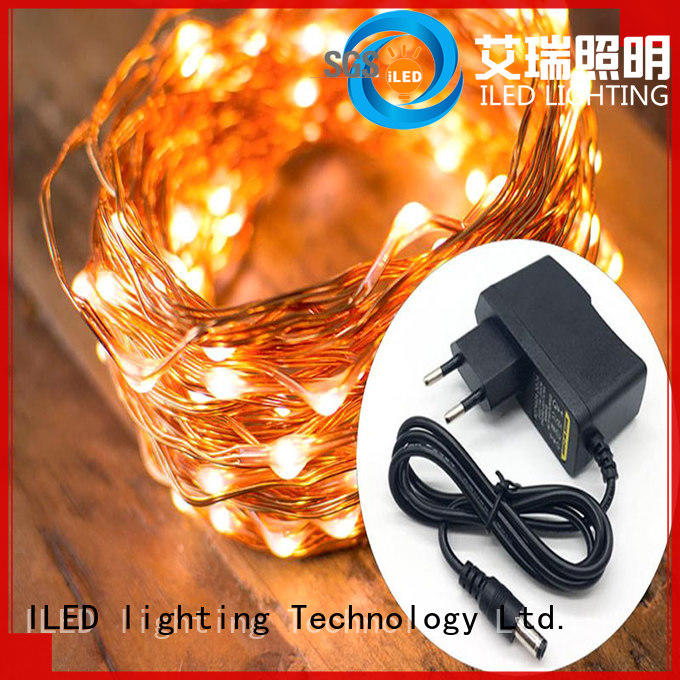 ILED white plug in twinkle lights manufacturer for tree