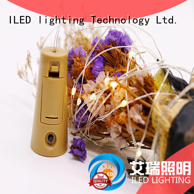 ILED powered battery operated fairy lights lamp for decoration