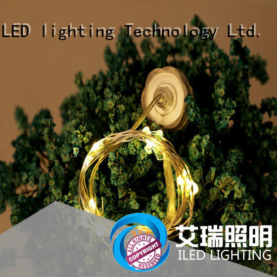 ILED battery powered fairy lights supplier for outdoor