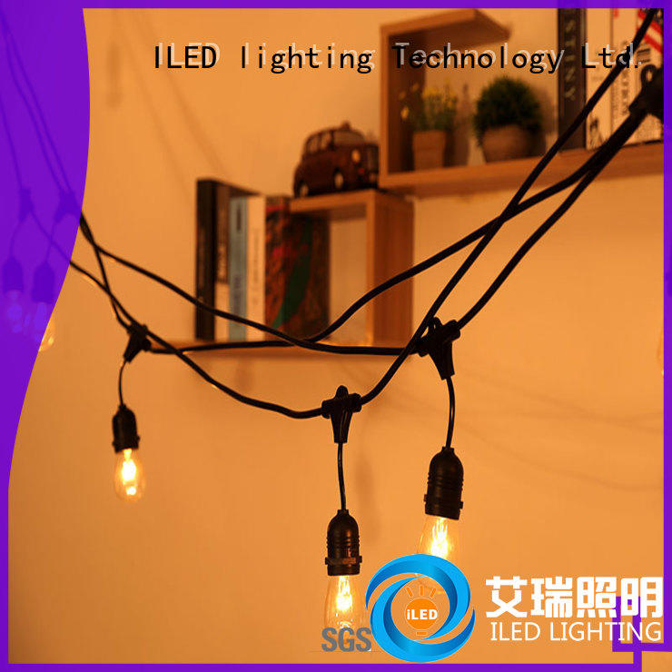 ILED decorative string lights manufacturer for outdoor