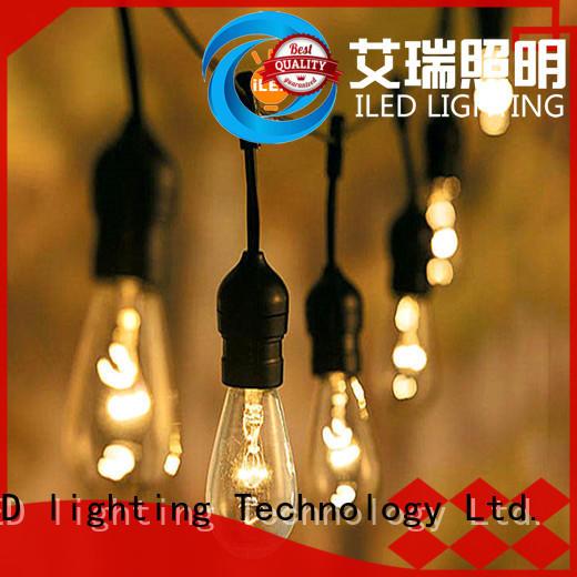 ILED waterproof garden string lights manufacturer for wedding