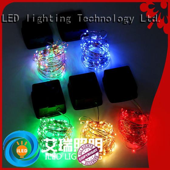 decorative solar copper string lights manufacturer for household