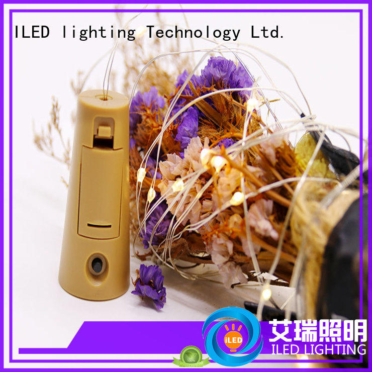 ILED strings copper wire fairy lights battery operated manufacturer for wedding