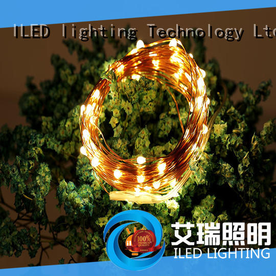 ILED battery wire lights customized for Christmas