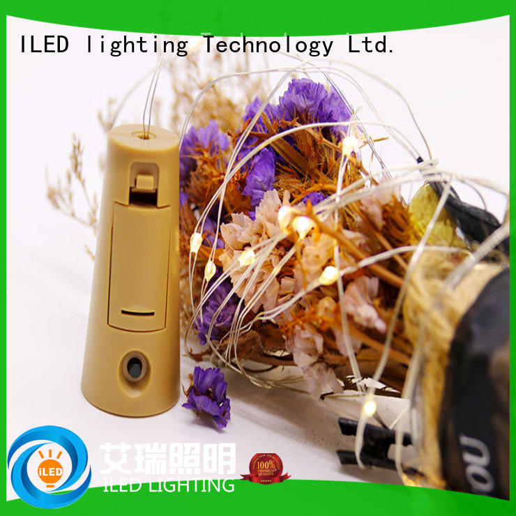 box battery operated outdoor string lights battery for decoration ILED