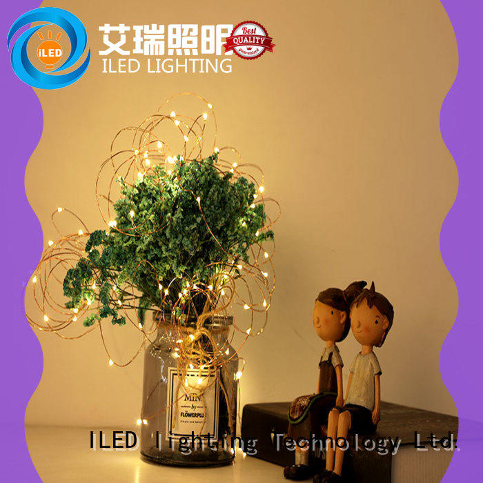 ILED starry battery operated fairy lights lamp for decoration